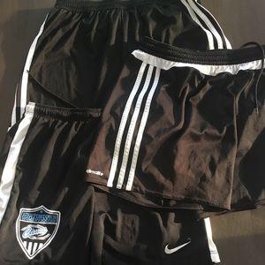 Soccer adidas shorts